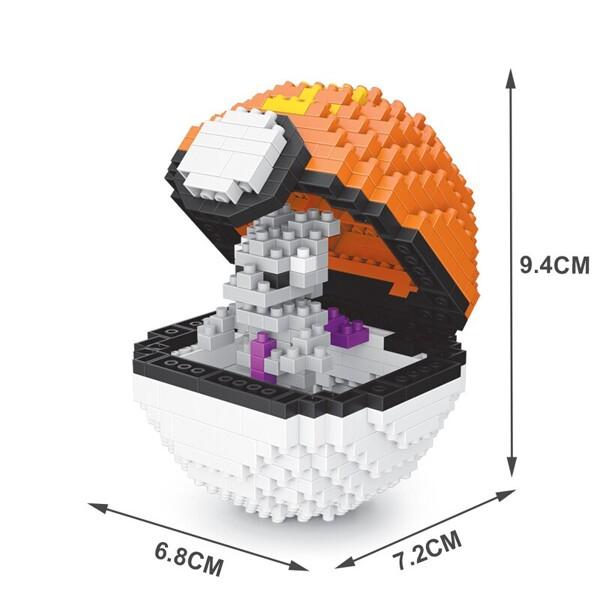 SC 310 Sport Ball Mewtwo Brickheadz