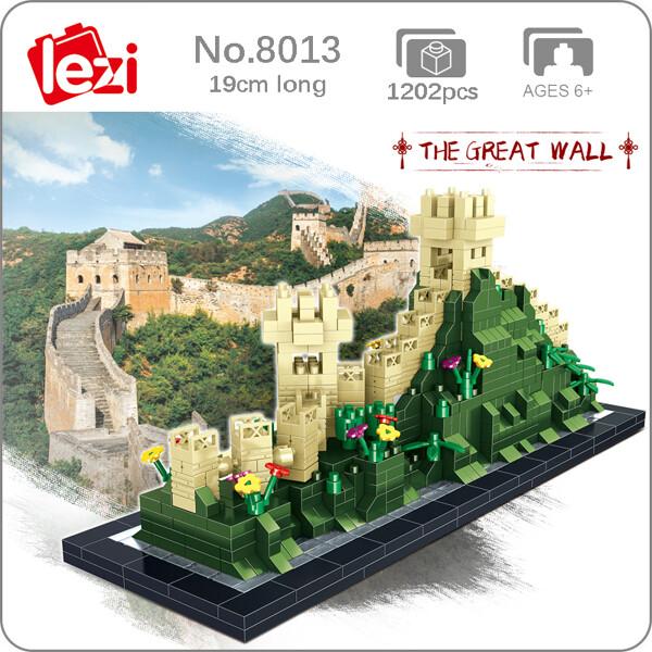 LEZI 8013 Great Wall Brickheadz