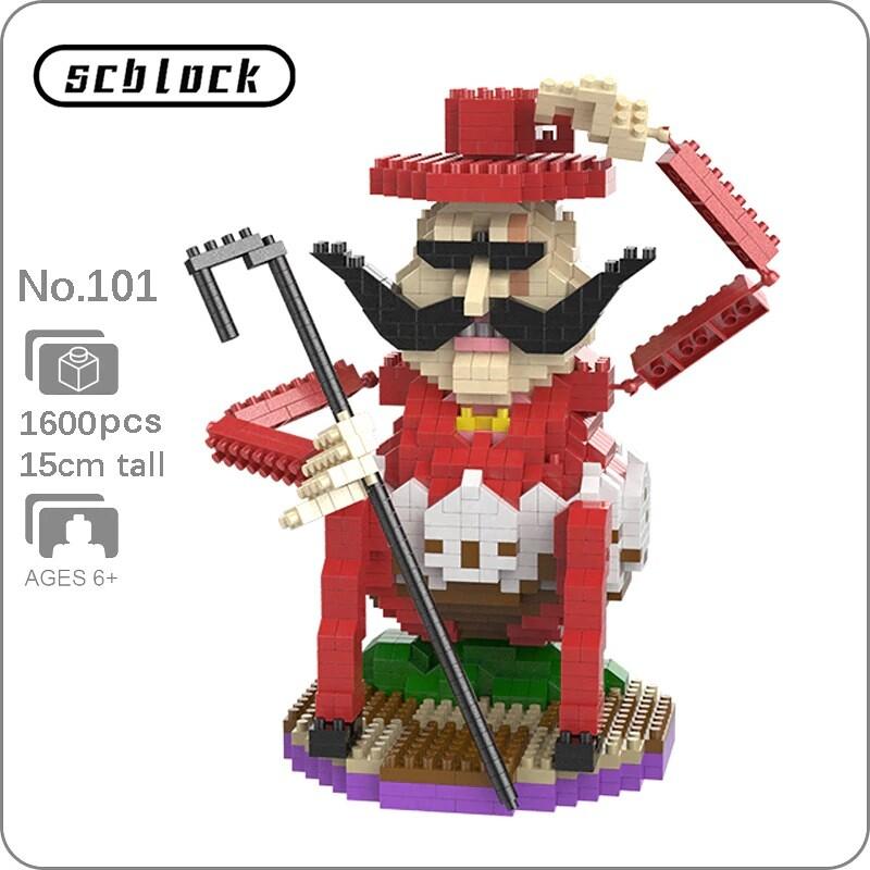 SC 101 Charlotte Baron Tamago Pirate Brickheadz