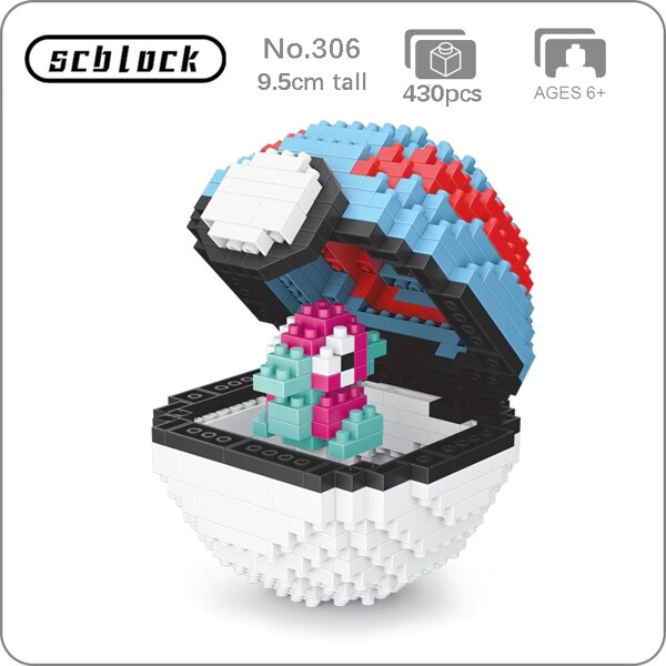 SC 306 Great Ball Porygon Brickheadz