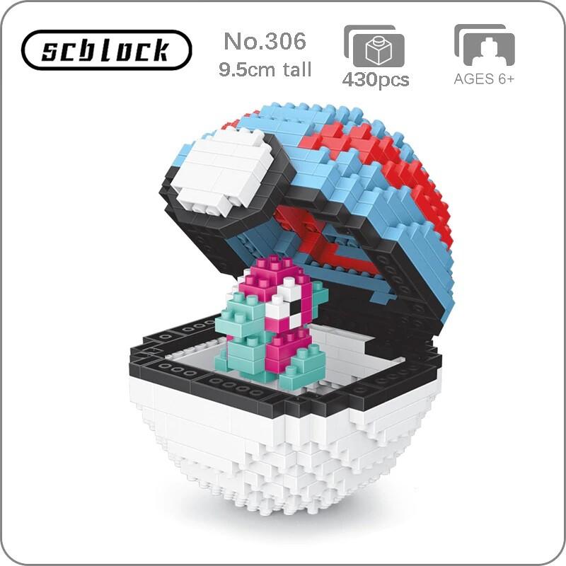 SC 306 Great Ball Porygon Brickheadz
