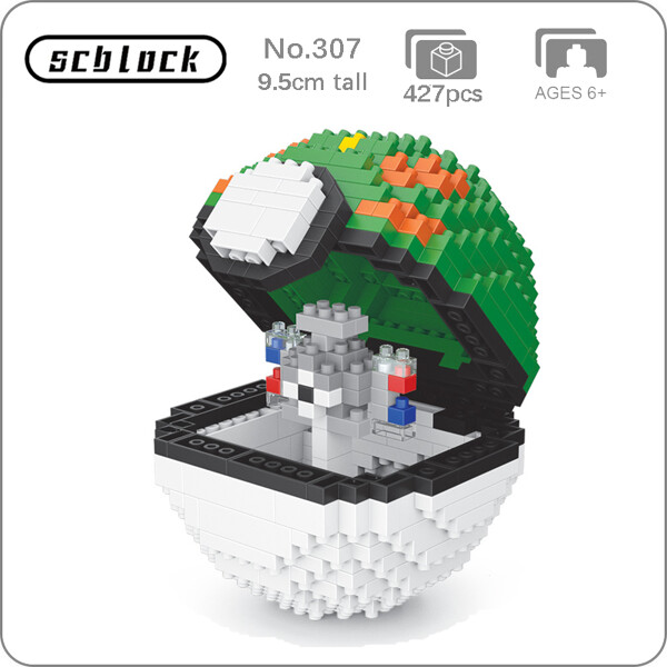 SC 307 Friend Ball Magnemite Brickheadz