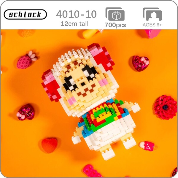 SC 4010-10 Crossing Sheep Dom Brickheadz