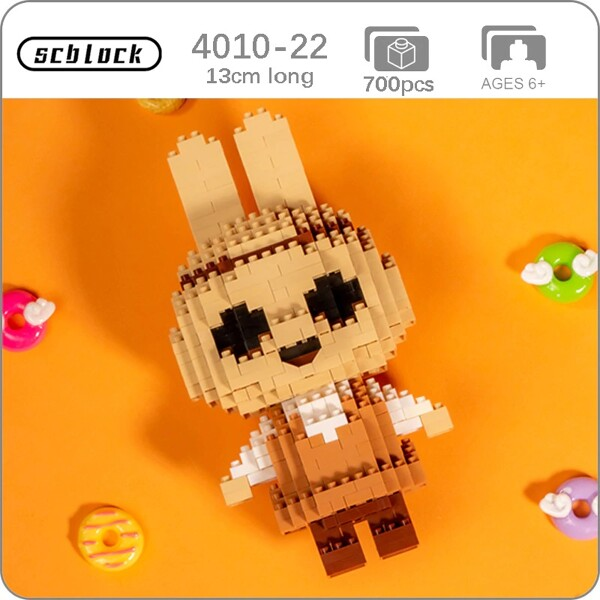SC 4010-22 Crossing Rabbit Coco Brickheadz