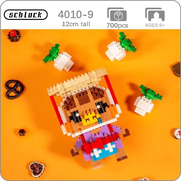SC 4010-9 Crossing Pig Daisy Mae Brickheadz