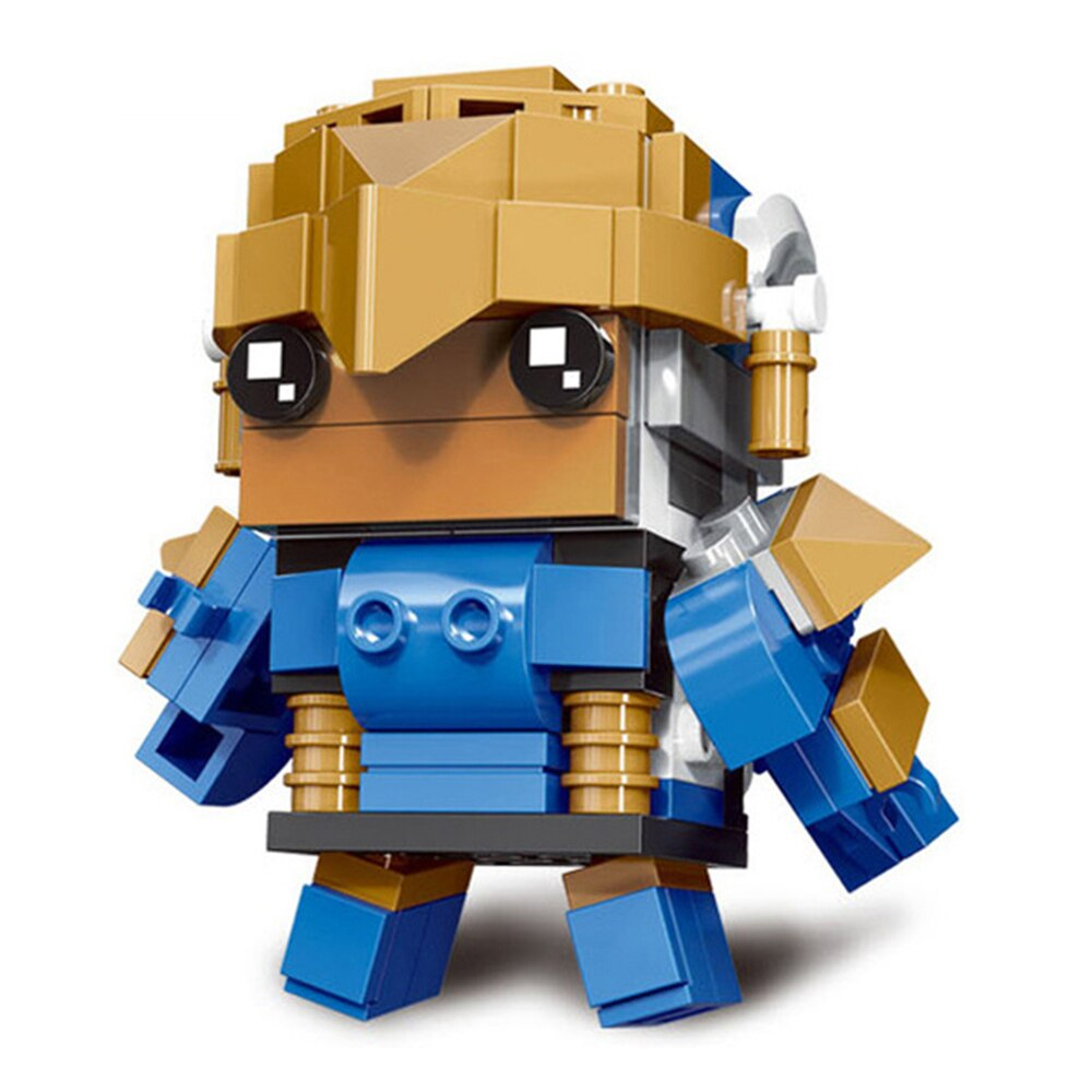 LOZ 6848-6858 Super Hero Compatible Figure Brickheadz