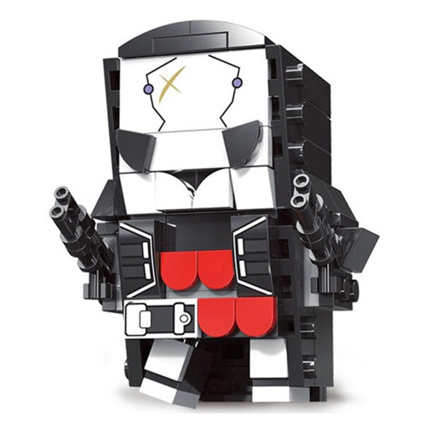 LOZ 6848-6858 Super Hero Compatible Figure Brickheadz