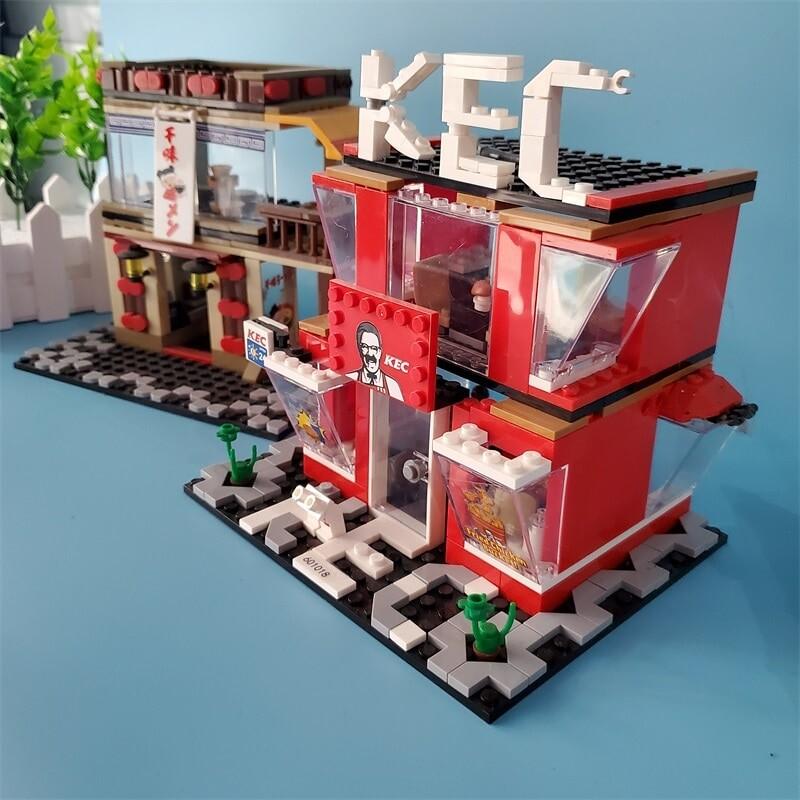 SEMBO 6010 - 6013 & 601017 - 601024 Street Mini Shop