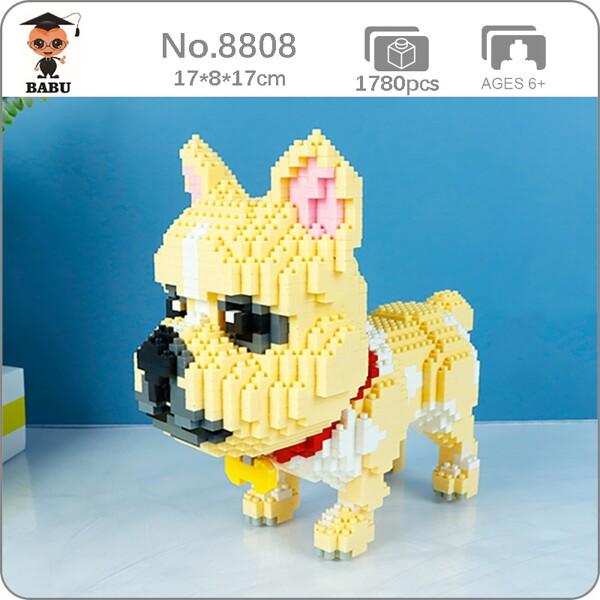 BALODY 8808 Cartoon Bulldog Dog Puppy