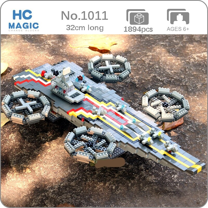 HC 1011 Super Hero Space Airship Helicopter