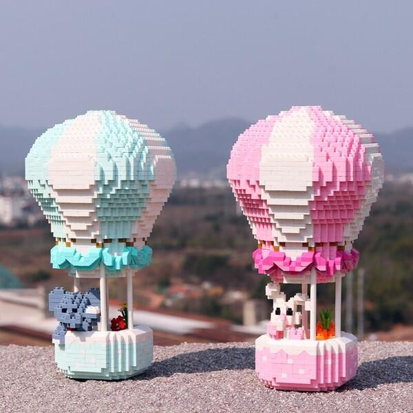 HC Magic 1052-1053 Hot Air Fire Balloon