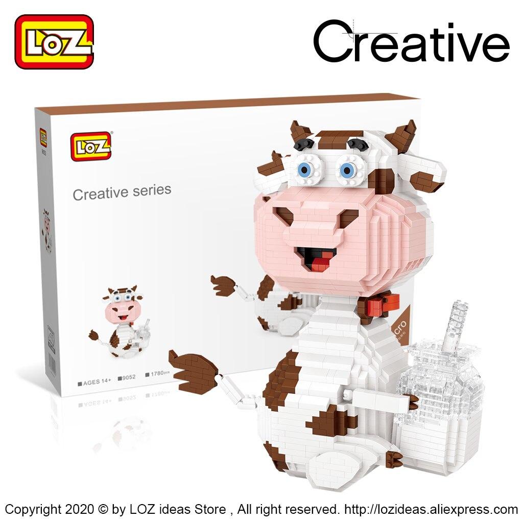 LOZ 9052 Dairy Cow with Milk