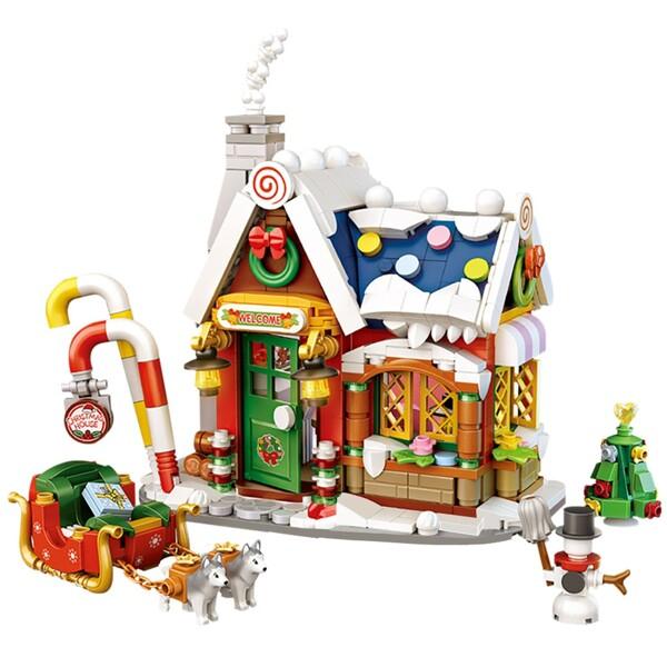 LOZ 1223 New Christmas House