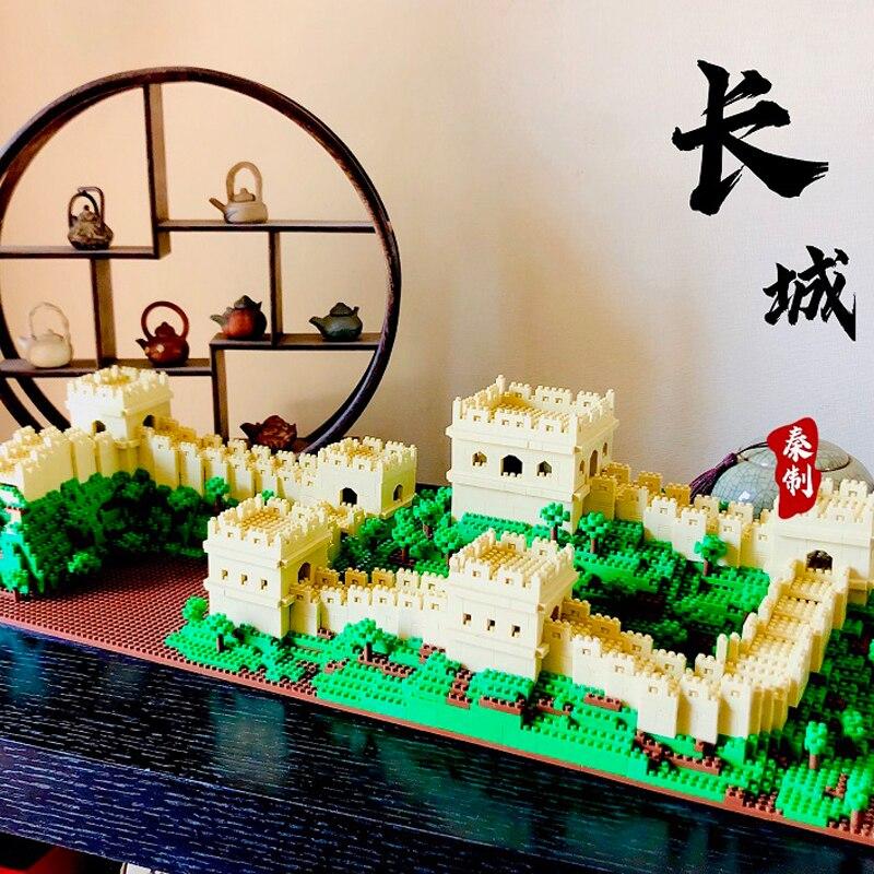 Lezi 8022 World Architecture China Great Wall Tree