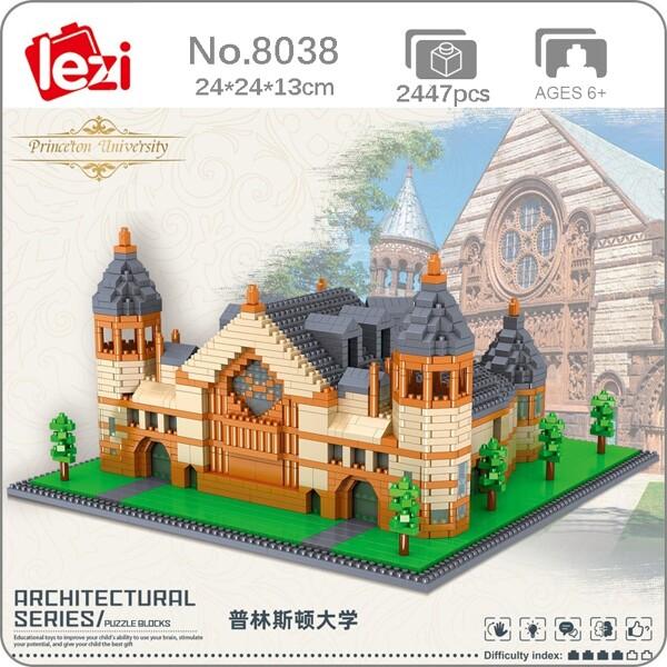 Lezi 8038 World Architecture Princeton University School