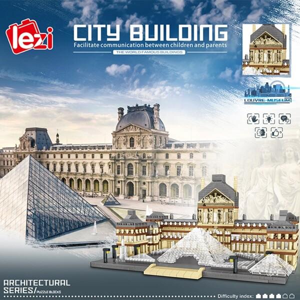 Lezi 8040 World Architecture Paris Louvre Museum