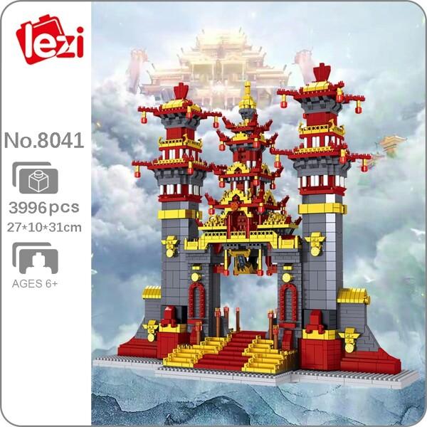 Lezi 8041 World Architecture Journey to the West