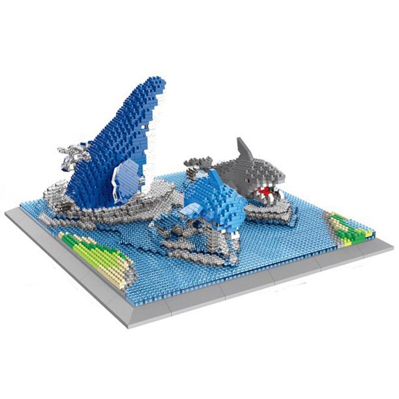 PZX 6624 Animal World Shark Dolphin Whale Fish Sea