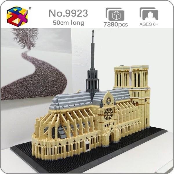 PZX 9923 World Architecture France Notre Dame de Paris