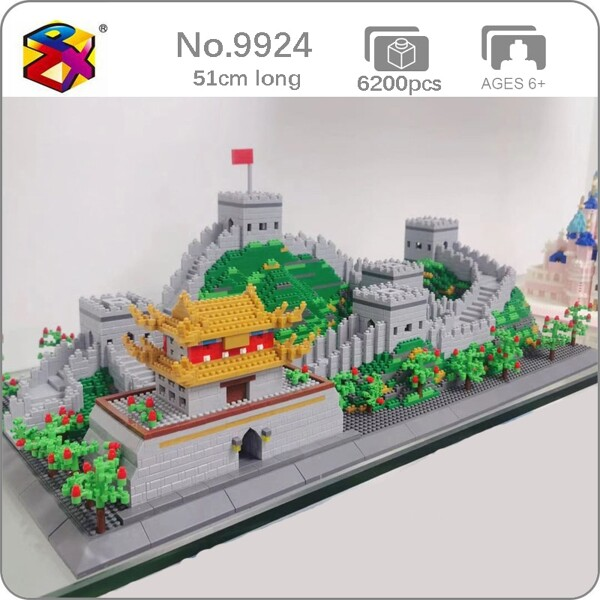 PZX 9924 World Architecture The Great Wall Tower Palace