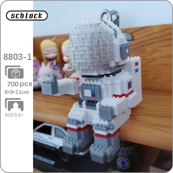 SC 8803-1 Space Adventure Astronaut White Helmet