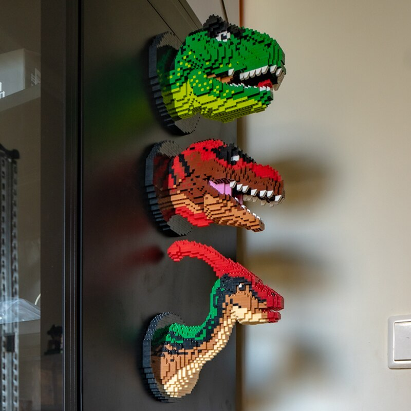 NoEnName_Null 9003 SC Dinosaur Tyrannosaurus Rex Triceratops Velociraptor