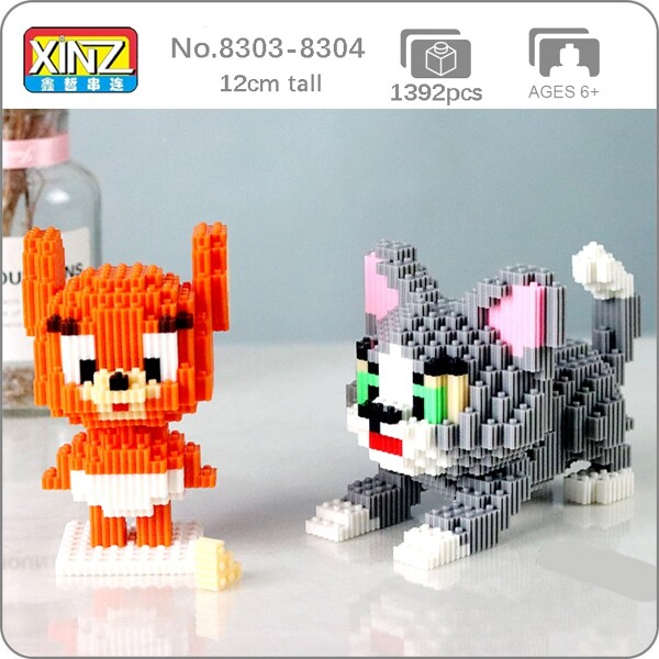 Xizai 8051-8052 Cartoon Cute Cat Kitten Mouse Animal