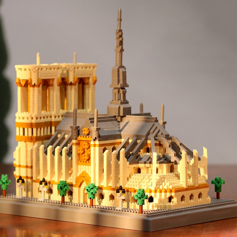 PZX 076 World Architecture Notre Dame de Paris Church Museum