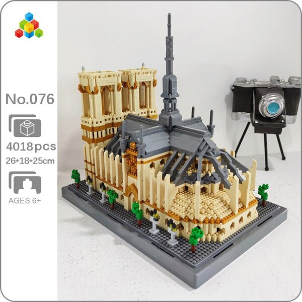 YZ 076 World Architecture Notre Dame de Paris Church Museum