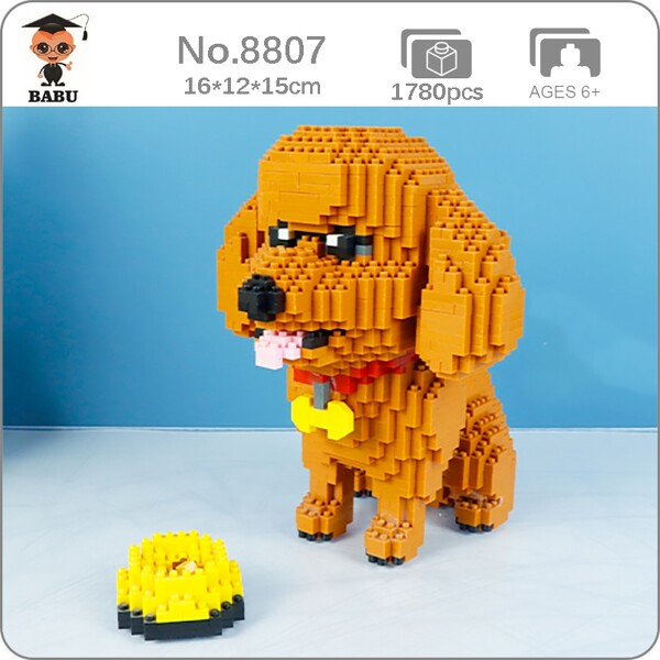 Babu 8807 Standard Poodle Dog