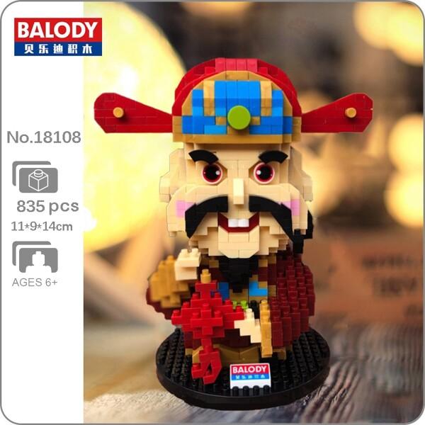 Balody 18108 Chinese God of Happiness