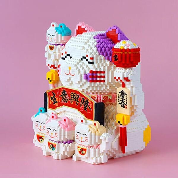 HC Magic 9891 Lucky Fortune Cat Piggy Bank