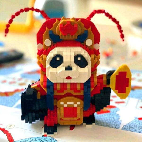 HC Magic 66843-66872 China Ancient Sichuan Opera Panda