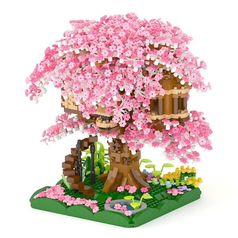 PZX 605 Pink Sakura Tree House