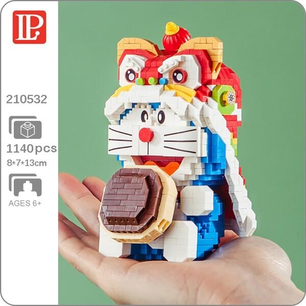 LP 210532 Doraemon Lion Dance