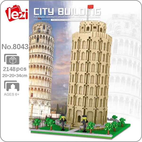 Lezi 8043 Leaning Tower of Pisa