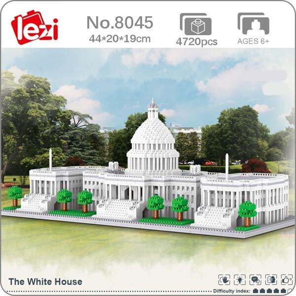Lezi 8045 The White House