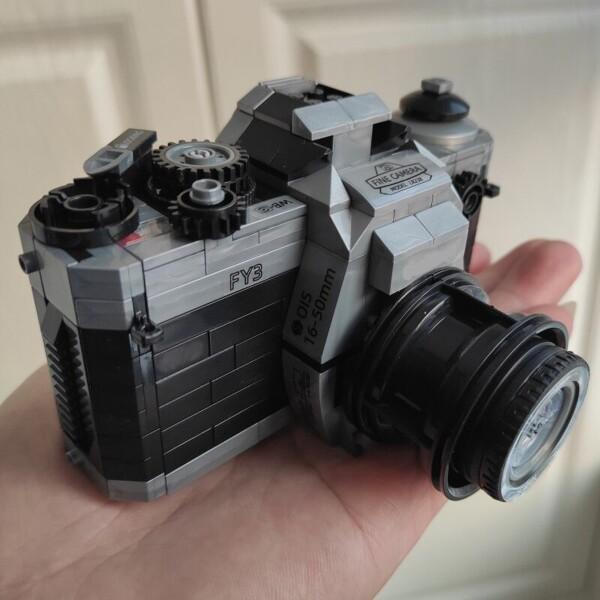 Lin 00846 Silver SLR Digital Camera