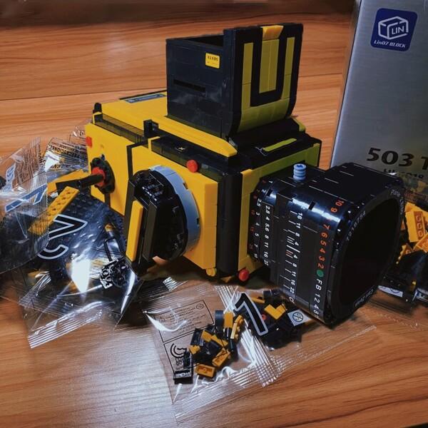 Lin 00848 Yellow Advanced Digital SLR Camera