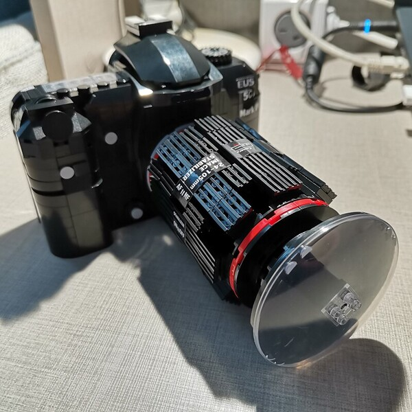 Lin 00849 Long Wide Lenses SLR Camera