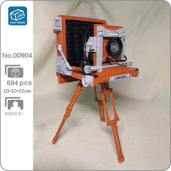 Lin 00904 Flashbulb Camera Foldable Support Machine
