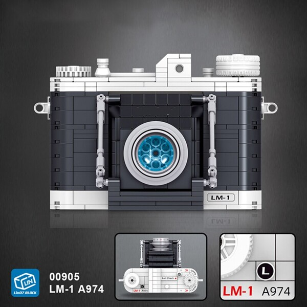 Lin 00905 Portable Vintage Digital Camera