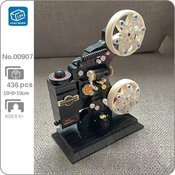 Lin 00907 Camera Film Projector Gears Technic Machine