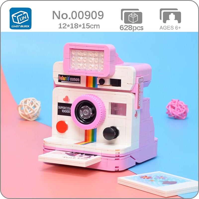 Lin 00909 Rainbow Digital Instant Camera Love Photo Machine