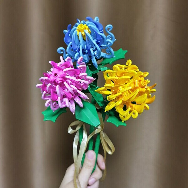 Sembo 601236 3 Pieces Bouquet Chrysanthe