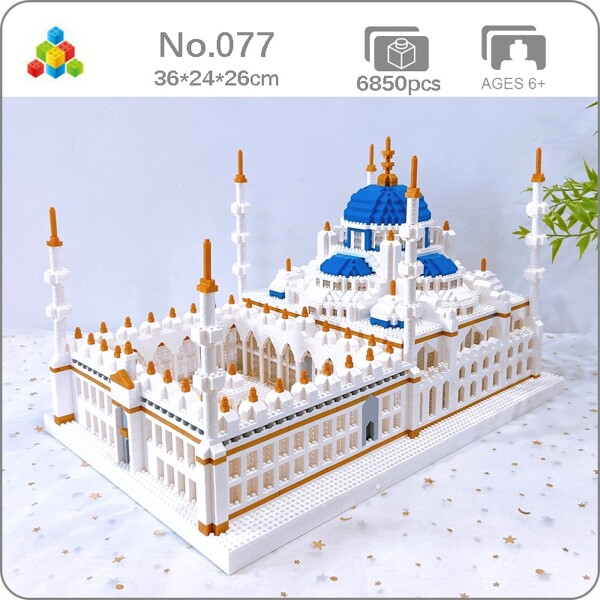 YZ 077 Romantic Sultan Ahmed Mosque