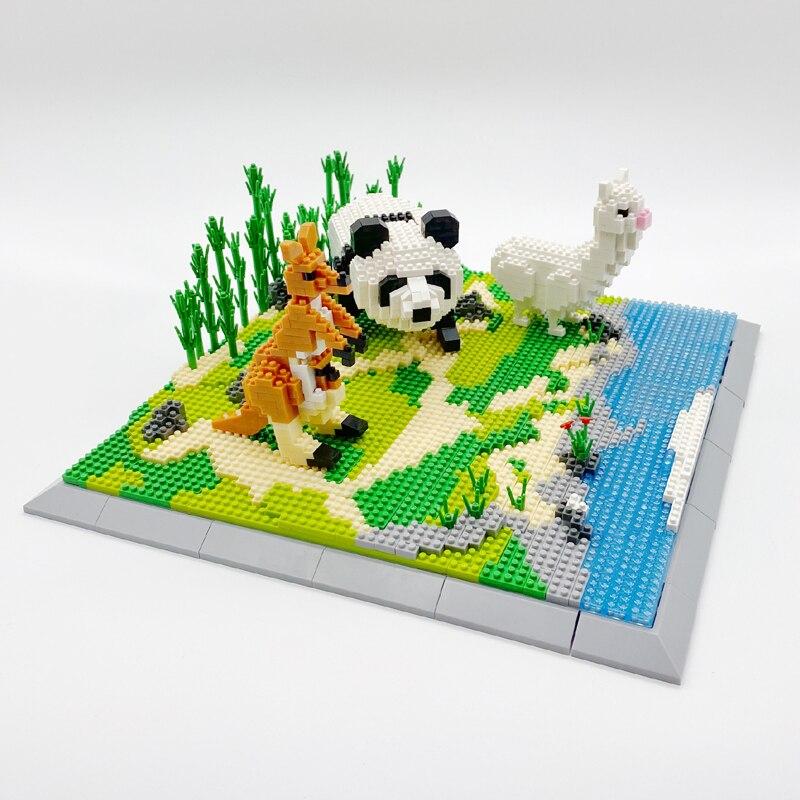 PZX 6622-6630 Animals World