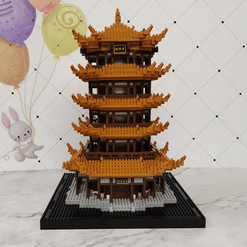 Balody 16068 Yellow Crane Tower