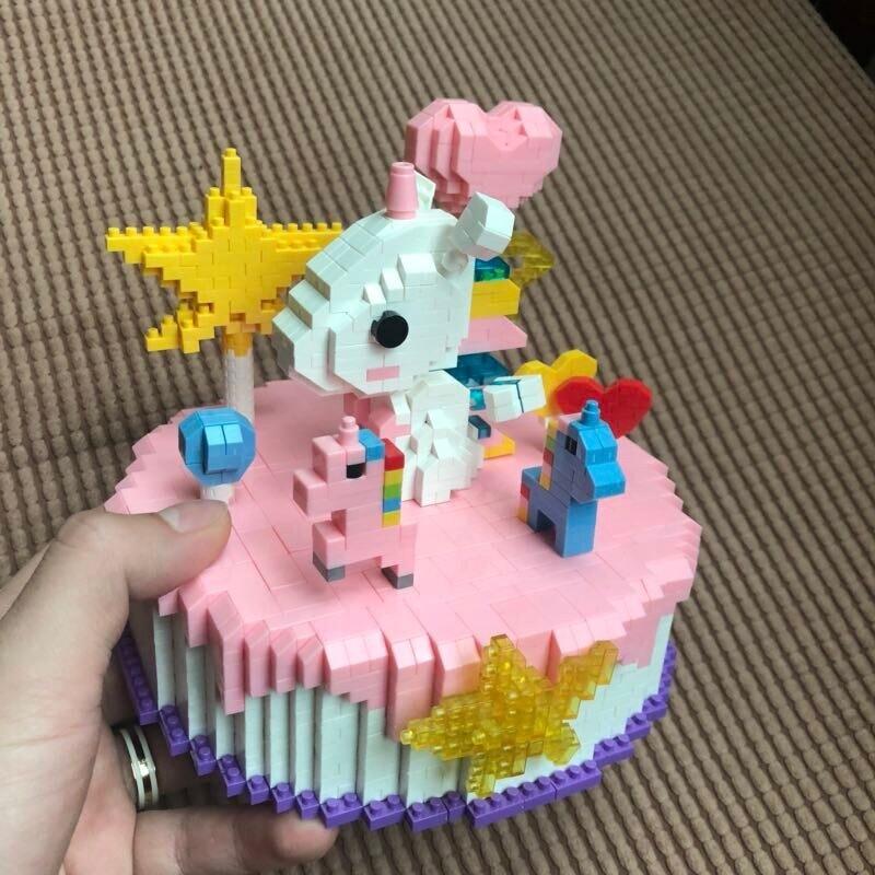 HSANHE 8624 Pink Cake