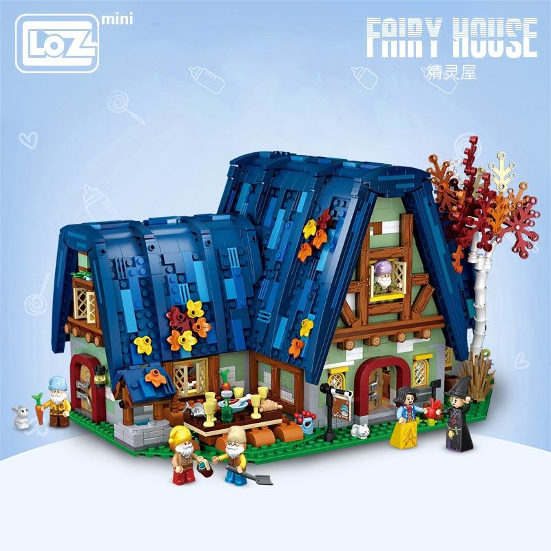 LOZ 1036 Fairy House